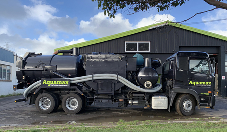 Aquamax's new Vacuum truck
