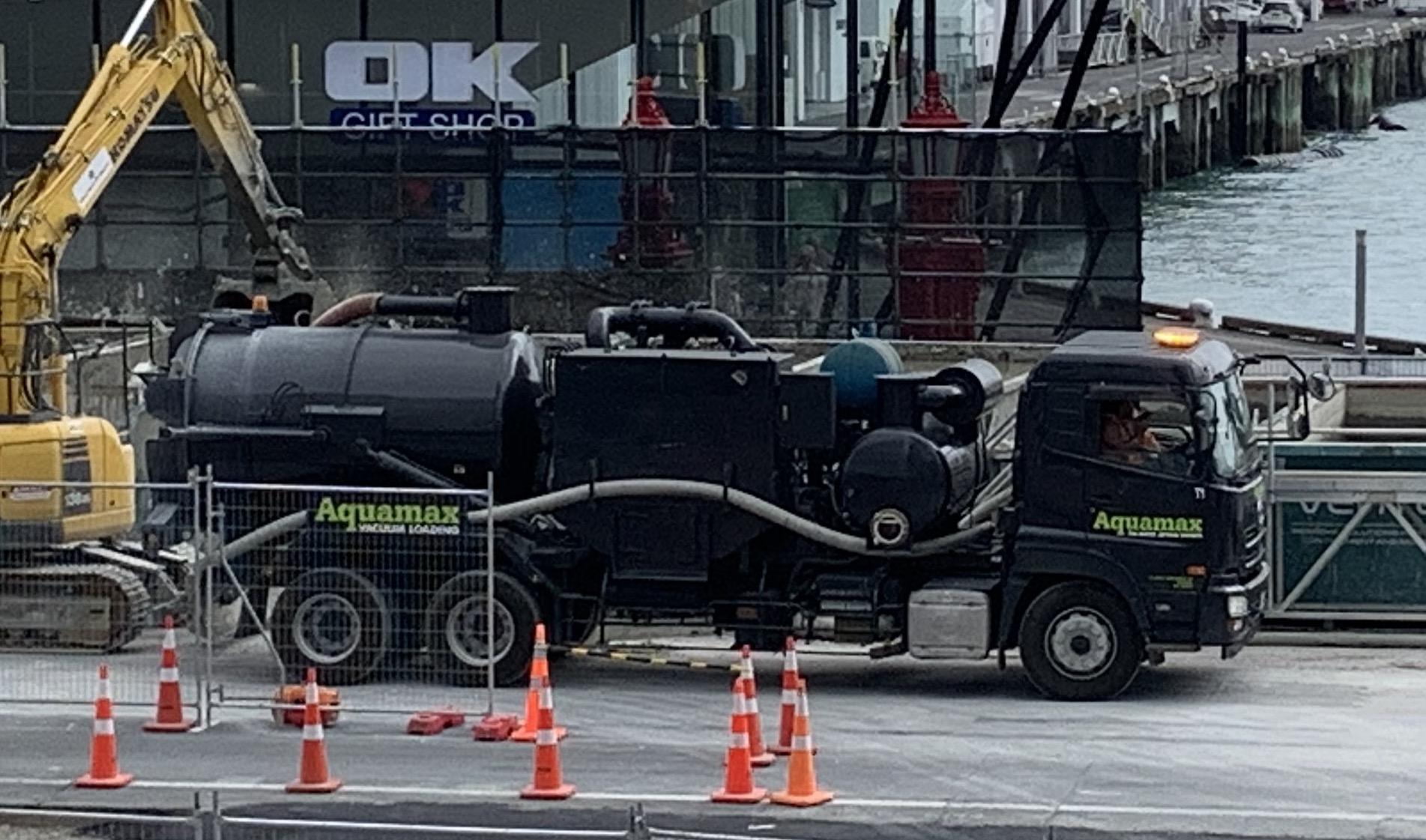 Aquamax's new Vacuum truck